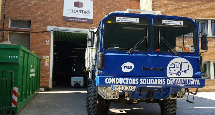 1ª caravana humanitaria de Conductors Solidaris para el campo de refugiados de Idomeni en Grecia